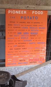 Educational Poster at 1880 Cowboy Town