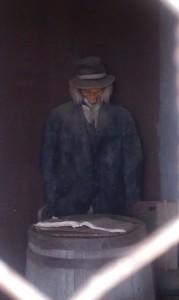 Creepy Guy - 1880 Cowboy Town