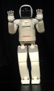 Honda's Asimo robot live at Disney D23 Expo 2013