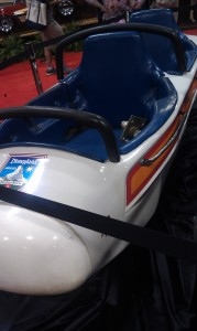Classic bobsled auctioned off at 2013 Disney D23 Expo