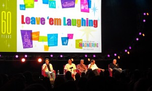 Imagineering and Humor panel discussion at the 2013 Disney D23 Expo