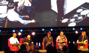 Imagineering Innovation panel discussion at the 2013 Disney D23 Expo