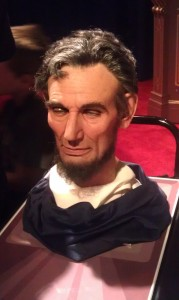Abraham Lincoln's Animatronic Head at the 2013 Disney D23 Expo