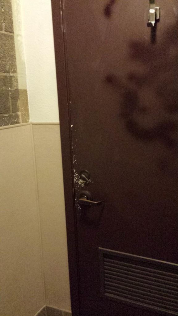 Dressing Room - Legionnaire Saloon - Oakland, CA - 11/7/13