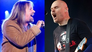 Vince Neil and Billy Corgan