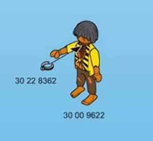 Playmobil Pirate Ship Slave