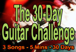 Learn guitar with the 30-Day Guitar Challenge