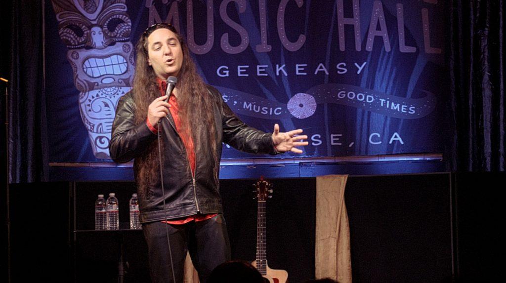 Comedian Phil Johnson at Art Boutiki in San Jose, CA