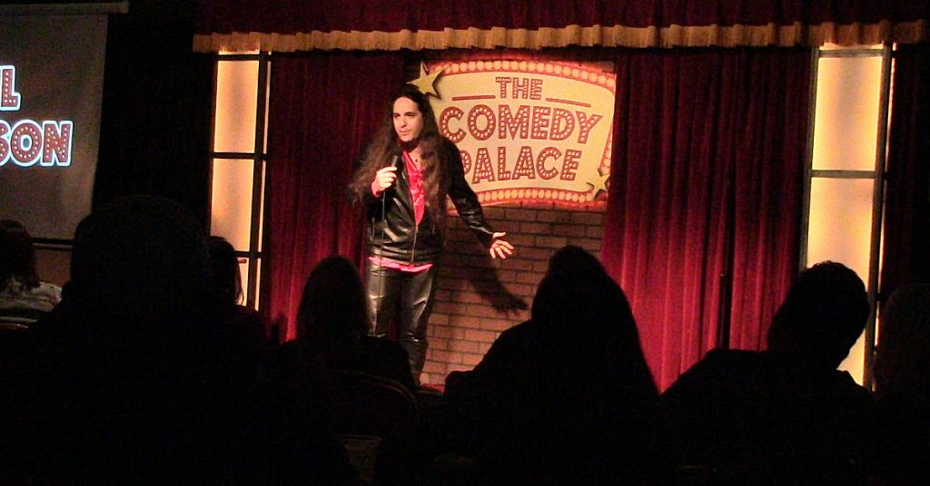 Phil Johnson at Comedy Palace