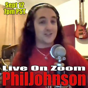 Phil Johnson Live Comedy on Zoom Sept 12, 2020